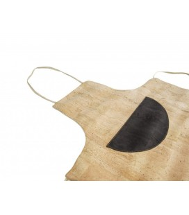 Apron made of Cork
