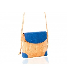 Handbag shoulder bag blue