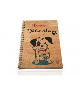 Cork journal Dalmatian