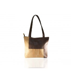 Cork Bag, two-tone