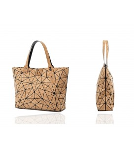 Backpack made of Cork Geometric