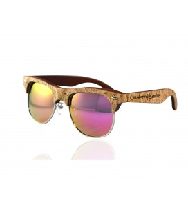 Sunglasses rose Wood and Cork